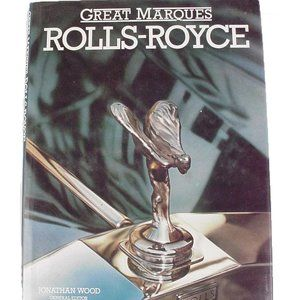 GREAT MARQUES ROLLS ROYCE Coffee Table Book